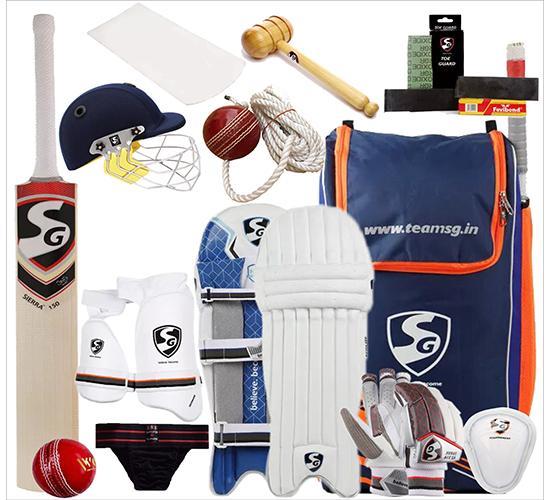 SG English Willow Cricket Kit