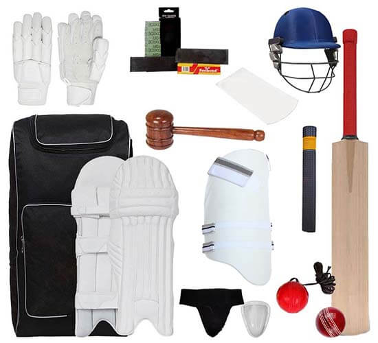 SM Kashmir willow cricket kit_cover