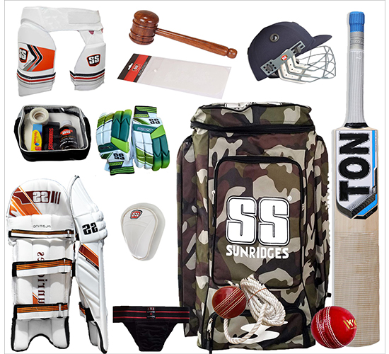 SS English Willow Cricket Kit