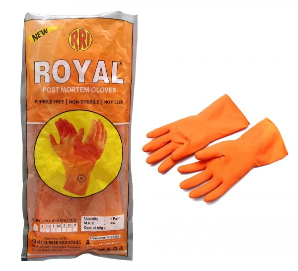 Royal Post Mortam Gloves