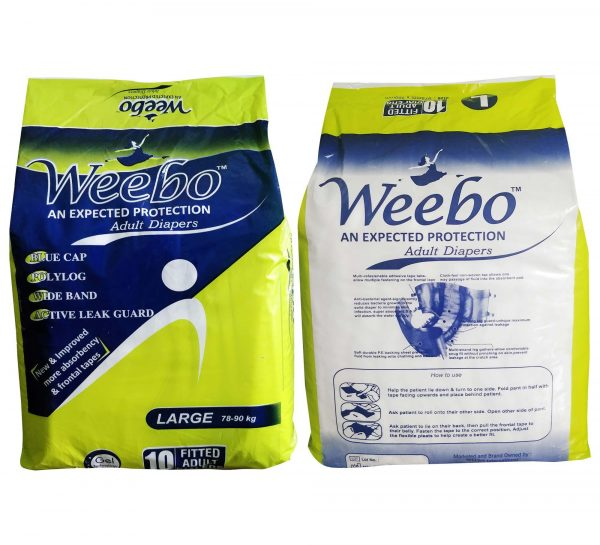 Weebo Adult Diaper_L Both
