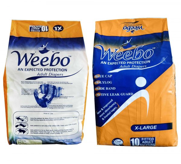 Weebo Adult Diaper_XL Both