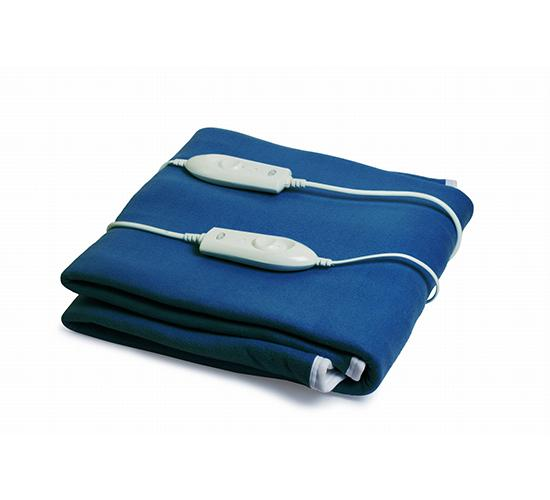Expressions Electric Bed Warmer_double bed_navyblue