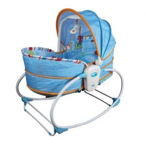 Mastela 5in1 Rocker & Bassinet_Turquoise