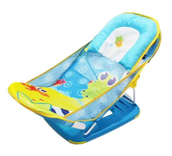 Mastela Deluxe Baby Bather_ Sky Blue