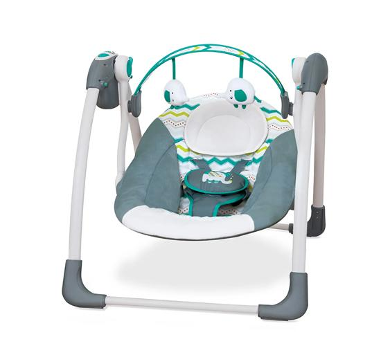 Mastela Deluxe Musical Portable Baby Swing_GREEN
