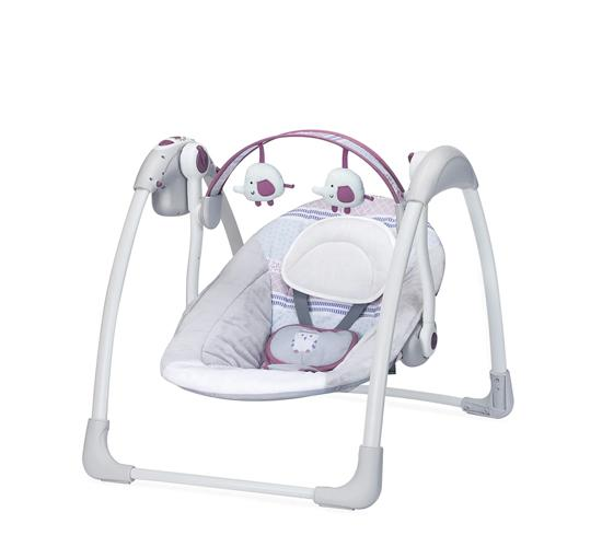 Mastela Deluxe Musical Portable Baby Swing_PURPLE