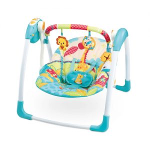 Mastela Deluxe Portable Swing_Blue
