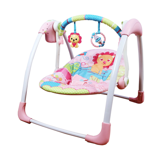 Mastela Deluxe Portable Swing_Pink