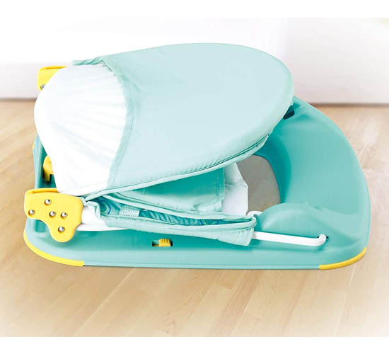 Mastela Fold Up Infant Seat_Aqua2