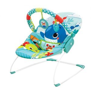 Mastela Newborn Musical Bouncer_Turquoise