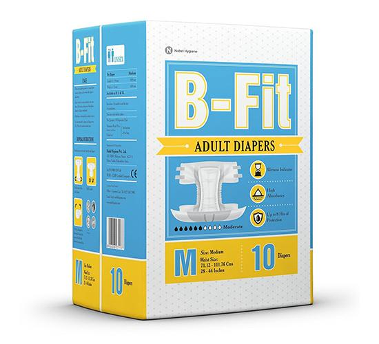 B-Fit Adult Diapers 3