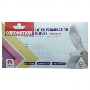 Coronation Latex Examination Gloves_cover