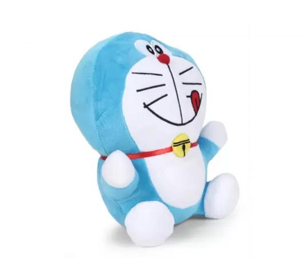 Doreamon Plush Smiling With Tongue Out Toy_1