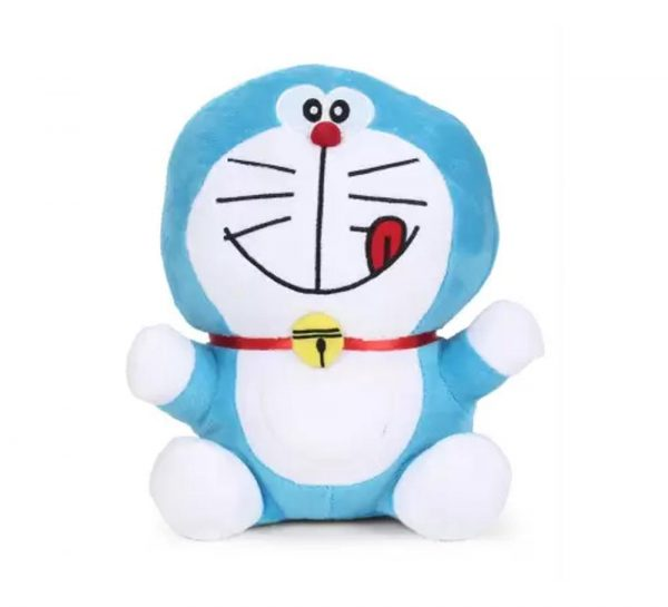 Doreamon Plush Smiling With Tongue Out Toy_cover