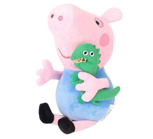 George Pig With Dinosaur Plush Toy_3