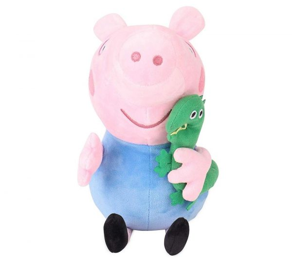 George Pig With Dinosaur Plush Toy_cover