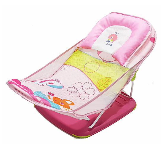 Mastela Deluxe Baby Bather_ Pony Pink