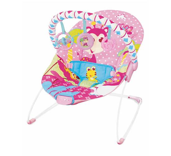 Mastela Soothing Vibrations Bouncer_Pink