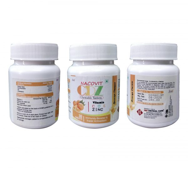 Nacovit CDZ chewable tablets_cover