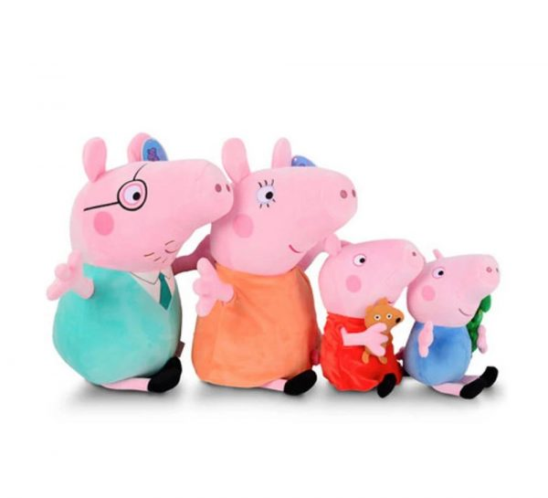 Peppa Pig Family Plush Gift Box Combo_1