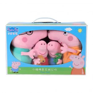 Peppa Pig Family Plush Gift Box Combo_Cover