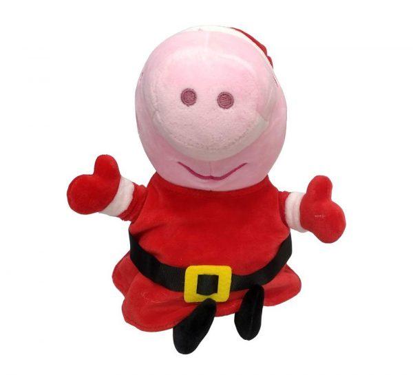 Peppa Pig in Xmas Costume Plush Toy_1