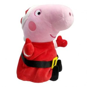 Peppa Pig in Xmas Costume Plush Toy_cover
