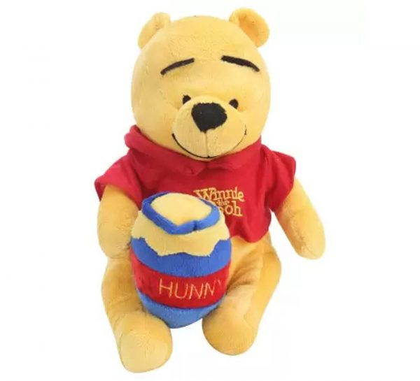 Pooh with Honey Pot Plush Toy_cover