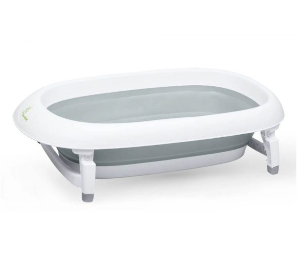 R for Rabbit Bubble Double Elite Baby Bath Tub_cover Grey