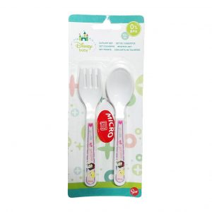 Stor PP Cutlery Baby Set Little Princess 2Pcs_cover