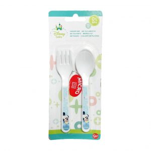 Stor PP Cutlery Baby Set Mickey Baby 2Pcs_cover