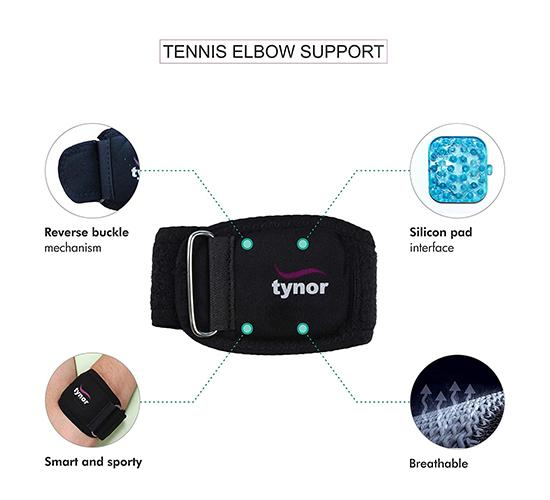 Tynor Tennis Elbow Support 4
