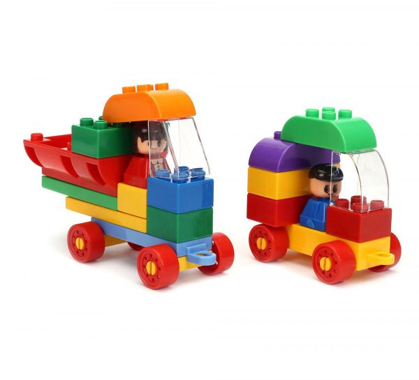 Virgo Toys Play Blocks Highway Vehicle Set_2