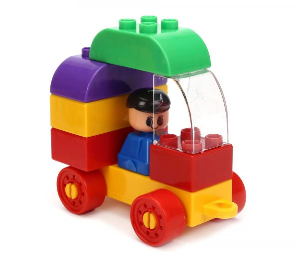 Virgo Toys Play Blocks Highway Vehicle Set_3