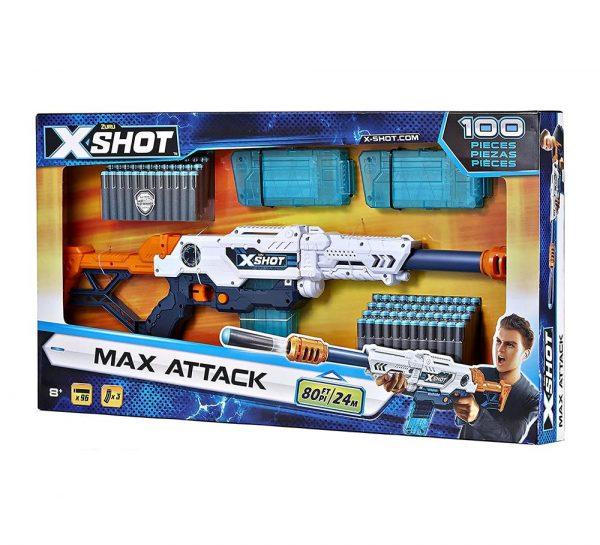 X Shot Clip Dart Blaster Gun_1