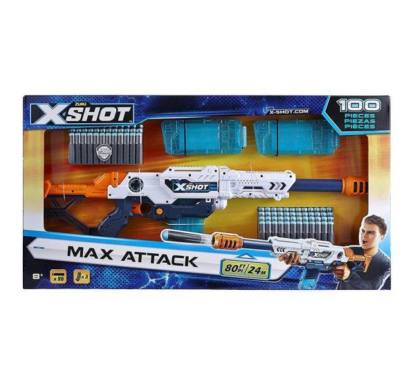 X Shot Clip Dart Blaster Gun_2