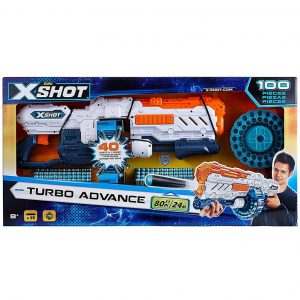 X-Shot Excel Turbo Advance Dart Blaster Gun_Cover