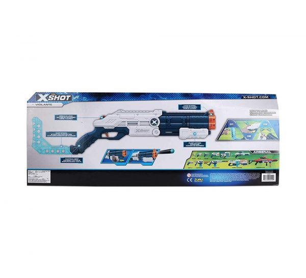 X Shot Excel Vigilante Dart Blaster Gun_cover