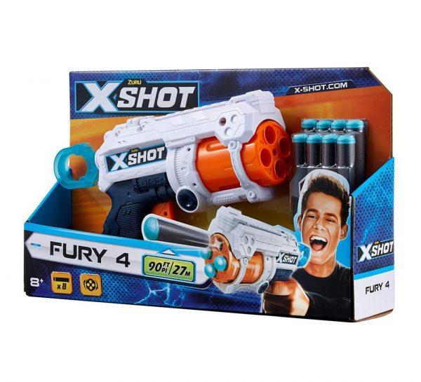 Zuru X-Shot Excel Fury 4_5