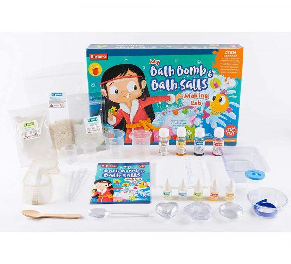 Explore My Bath Bomb & Bath Salts Making Lab_3