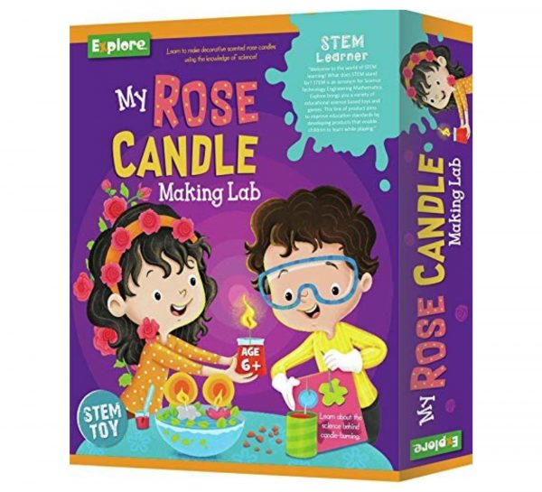 Explore My Rose Candle Making Lab_cover