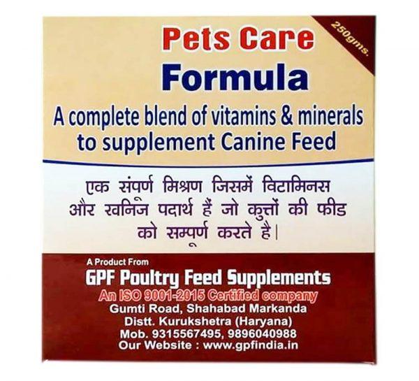 GPF Pets Care Formula_cover