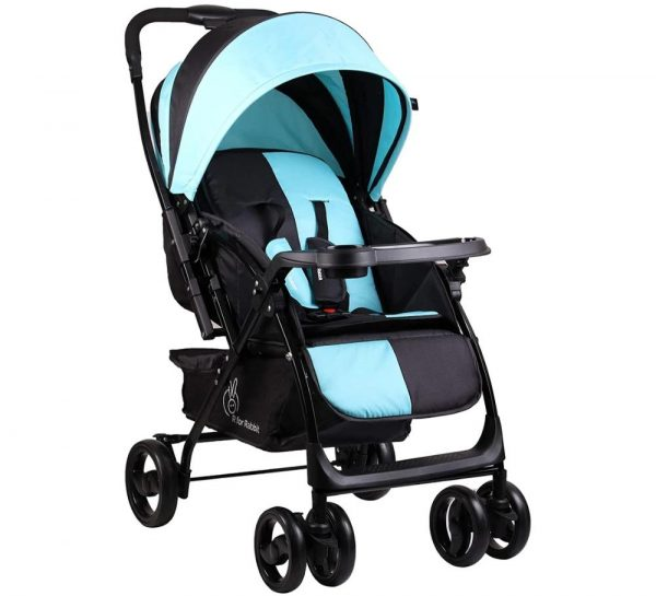 R for Rabbit Cuppy Cake Grand Stroller_Blue cover
