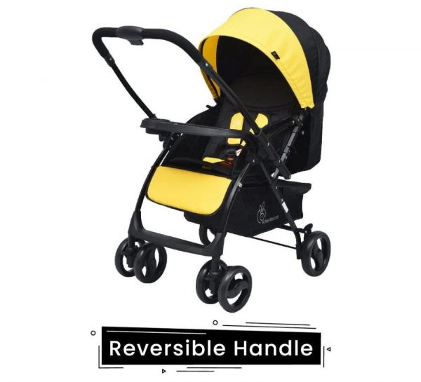 R for Rabbit Cuppy Cake Grand Stroller_Yellow 1