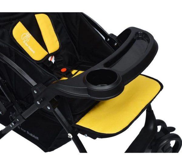 R for Rabbit Cuppy Cake Grand Stroller_Yellow 3