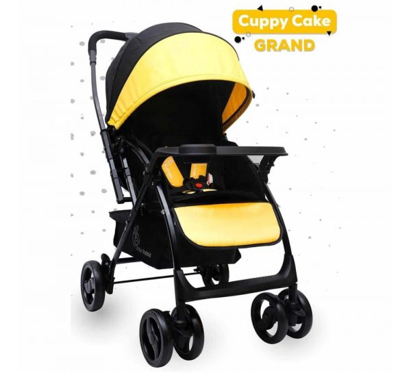 R for Rabbit Cuppy Cake Grand Stroller_Yellow 7