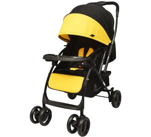 R for Rabbit Cuppy Cake Grand Stroller_Yellow cover