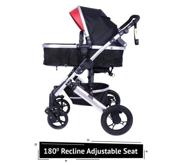 R for Rabbit Hokey Pokey Lite Baby Stroller & Pram_Red 5