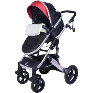 R for Rabbit Hokey Pokey Lite Baby Stroller & Pram_Red cover